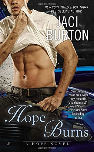 book cover of Hope Burns