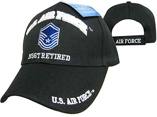 US AIR Force MSGT Retired Cap