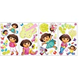 Dora the Explorer Wall Decals - 28 Stickers per Pack