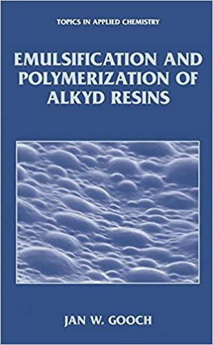 Emulsification and Polymerization of Alkyd Resins (Topics in Applied Chemistry)