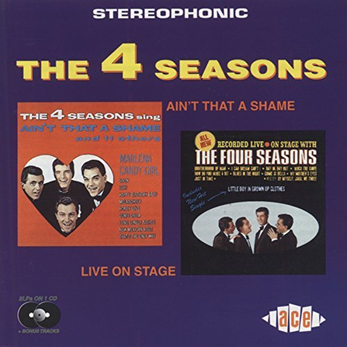 Aint That a Shame/Live on Stag by 4 Seasons (1998-08-18) ()