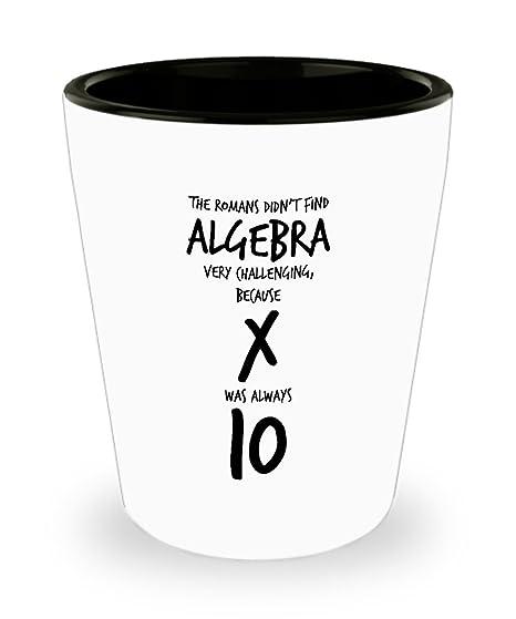 Amazon.com: Divertido matemáticas profesor cerámica blanca ...