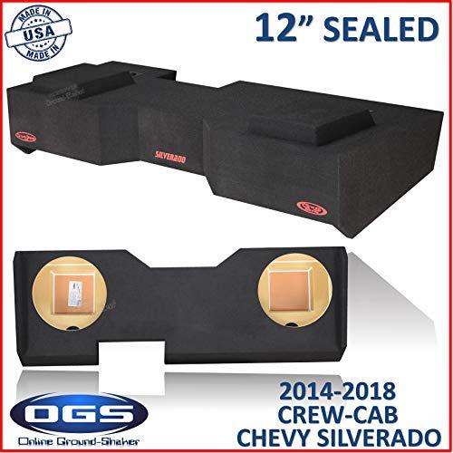Sealed Logo Enclosure - Chevy Silverado & Gmc Sierra Crew-Cab 2014-2018 12