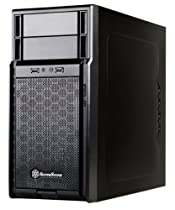 Silverstone Tek Micro-ATX, Mini-ITX Mid Tower Computer Case, Black PS08B