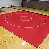 EZ Flex Sport Mats 1393095 42 ft. x 38 ft. x 1.63 in. Wrestling Mat System