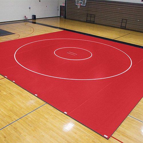 EZ Flex Sport Mats 1393095 42 ft. x 38 ft. x 1.63 in. Wrestling Mat System by EZ Flex Sport Mats