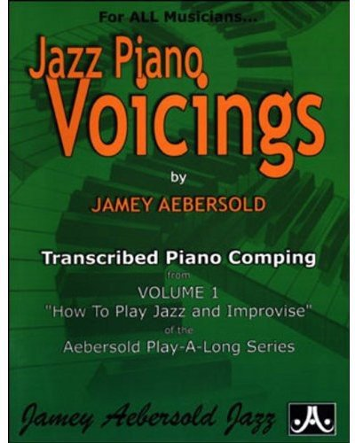 Jazz Piano Voicings - Transcribed From Volume 1 'How To Play Jazz & Improvise'