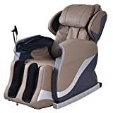 Electric Massage Chair Recliner Screen Full Body 25 Airbag PU Cover Coffee