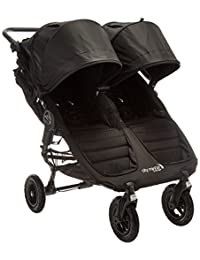 Baby Jogger 2016 City Mini GT Double Stroller - Black/Black BOBEBE Online Baby Store From New York to Miami and Los Angeles