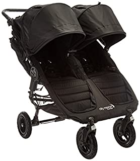 The City Mini GT double stroller takes multi terrain strolling to the next level with all terrain capacities and deluxe standard features in a chic compact package. Its easy to use side by side design and all terrain tires make it perfect for both ev...