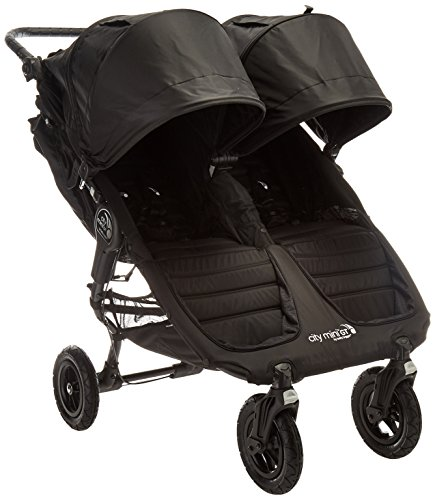 Great Deal! Baby Jogger 2016 City Mini GT Double Stroller - Black/Black