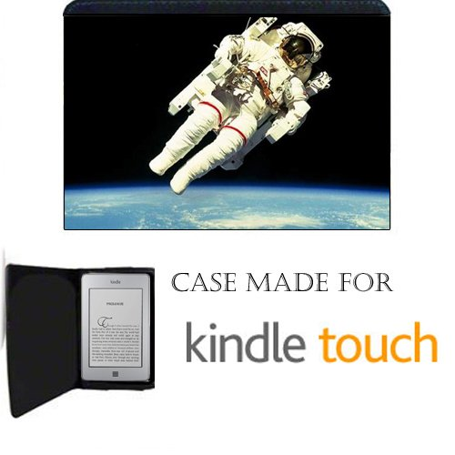 Nasa Astronaut in space Kindle Touch Fabric Notebook Case...