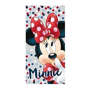 Artesanía Cerdá 2200002157 Toalla Playa algodón, diseño Minnie Mouse: Amazon.es: Hogar
