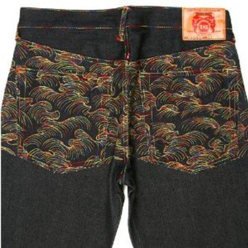 RMC Martin ksohoh arc-en-ciel Tsunami Wave Denim Jeans redm0064