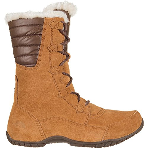 W Para Nuptse Mujer De Ii Face Botas Nieve North Purna Marrón The Aw7gapqp