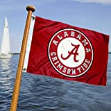 Alabama Crimson Tide Boat and Nautical Flag