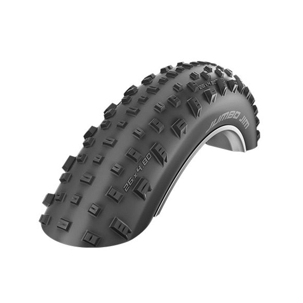 Schwalbe Jumbo Jim Evolution LiteSkin Folding Tire, 4.0 x 26