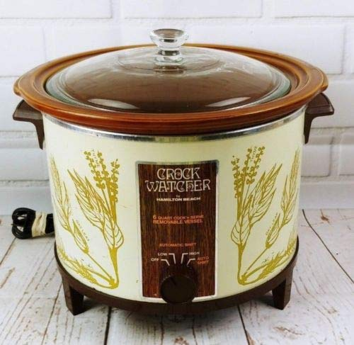 Vintage Hamilton Beach 417HD 6-Quart Slow Cooker