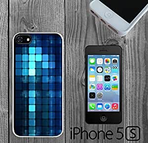 Blue Cubes Pattern Custom made Case/Cover/skin FOR iPhone 5/5s