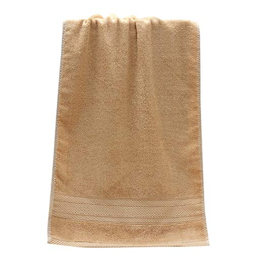 Iuhan  Towel, 1PC Super Absorbent Soft Washcloth The Bath Pure Cotton Siege Back Word Bath Towel 13.8