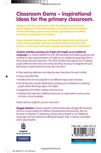 Creative Activities and Ideas for Pupils with English as an