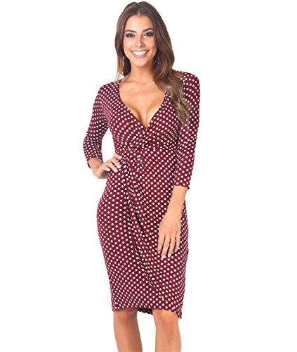 Gathered Jersey Dress - 6