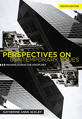 Perspectives on Contemporary Issues (MindTap Course List)