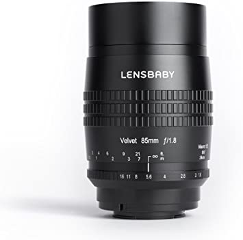 Lensbaby Velvet 85 Fuji X Porträt Und Makro Objektiv Elektronik