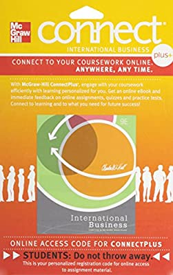 Connect Plus International Business 1 Semester Access Card for Hill IB 9e