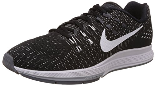 Nike Men's Air Zoom Structure 19 Running Shoe (8 D(M) US, Black/White-Dark Grey-Cool Grey)