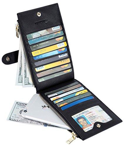 Review Travelambo Womens Walllet RFID
