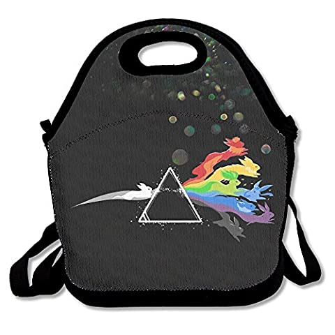 Bekey Pink Floyd Eevee Evolution Lunch Tote Bag Lunch Box For Women Adults Kids Girls For Travel School Picnic Grocery (Xmen Evolution Series)