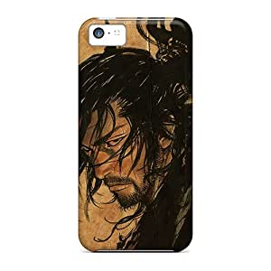 Fashionable Design Crazy Man Hair Rugged Cases Covers For Iphone 5c New