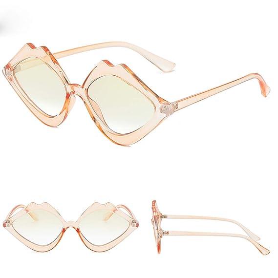 Mymyguoe Dama Gafas de Sol Mujeres Vintage Gafas de Sol Lente de  Perspectiva Gafas de protección e360813219cd
