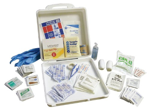 First Aid Kit  Kit  Plastic Case Material  General Purpose  50 People Served Per Kit   1 Each