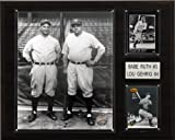 MLB Ruth-Gehrig New York Yankees Player Plaque