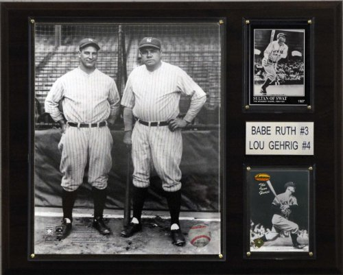 - MLB Ruth-Gehrig New York Yankees Player Plaque