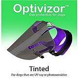 Optivizor Tinted U.V. Ray Eye Protection for Dogs, Xlarge 99+ Lbs