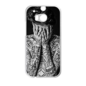 Personalized Clear Phone Case For HTC M8,attractive body tattoo