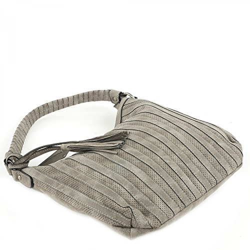 SURI FREY Tasche - Katie May - S Hobo - Darkgrey