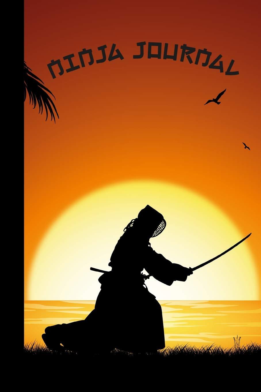 Ninja Journal: Sensei Sunset Cover | Diary & Writing ...