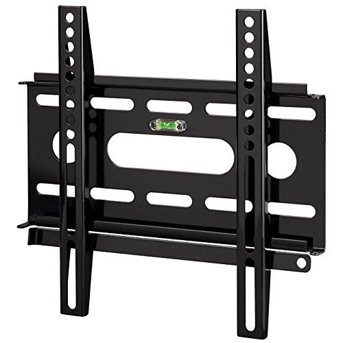 Hama TV-Wandhalterung Ultraslim für 48 - 94cm Diagonale (19-37 Zoll), fürmax. 25 kg, VESA bis 200 x 200, schwarz