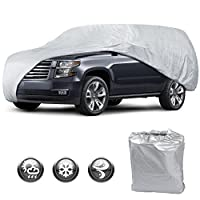 Motor Trend All Season WeatherWear 1-Poly Layer Snow proof, Water Resistant Car Cover