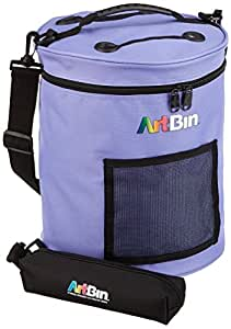 ArtBin 6936SA Yarn Drum 12-inches round by 12-3/4-inches high, Periwinkle