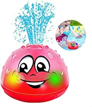 QINGBAO Bath Toys Bathroom Play Bath Spray Toys with Music & Lamp Electric Automatic Induction Bathing Wat