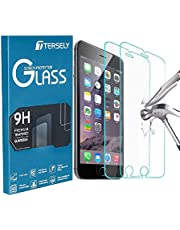 TERSELY [2 Packs] Screen Protector for Apple iPhone 8/7, Premium HD Tempered Glass Screen Protector Film [9H Hardness][Case Friendly] [3D Touch Compatible] for iPhone 8 7 6s 6 (4.7 inch)
