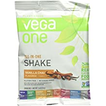 SAMPLE SIZE Vega One All-in-One Nutritional Shake, Vanilla Chai, 1.6 Ounce