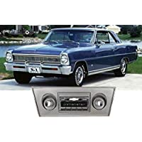 1966-1967 Chevy Nova USA-630 II High Power 300 watt AM FM Car Stereo/Radio with iPod Docking Cable