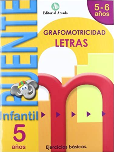 Book's Cover of Puente Infantil 5-6 años Letras (Español) Tapa blanda – 1 abril 2020