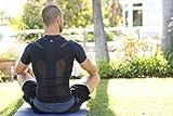 ALIGNMED Posture Shirt - Mens Zipper Shirt, Posture Support, Compression, Breathable